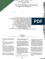 Didáctica de Las Lenguas Extranjeras o Segundas Lenguas 1
