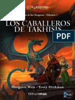 El Ocaso de Los Dragones 1 - Los Caballeros de Tak