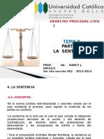 Tema 9 Parte II La Sentencia (Rev. 2013-2014)