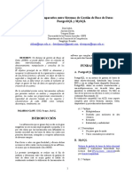 Comparacion PostgreSQL y MySQL