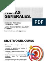 CLASE CURSO DERECHO PROCESAL ADMINISTRATIVO 2016-I-1 (2).ppt