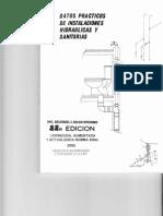 Datos Practicos de Intalaciones Hidraulicas y Sanitarias