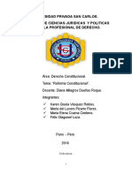 2016 Trabajo de Reforma Constitucional LUCERO KAREM