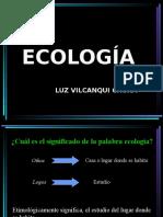 ECOLOGIA...