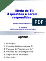 Andr Luiz Pacheco - Auditoria de TI