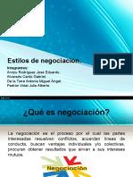 20160614 Presentacion Estilos de Negociacion