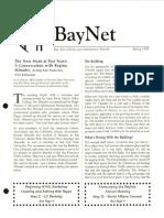 BayNet News Spring 1998