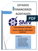 Estados Financieros Auditados.