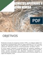Sensores remotos y mineria