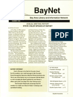 BayNet News Summer 1994