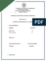 Practica 7 Cloruro de Hexaminniquel II
