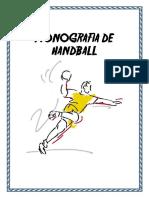 Monografia de Handball.