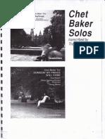 Chet Baker trumpet...Solos CDs