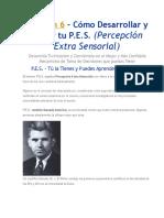 PES - Percepciion Extrasensorial - Lección 6