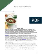Cegah Dan Atasi Diabetes Dengan Serat Makanan