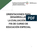 Orientaciones Fase Servicios de Educación Especial