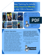 Tri & OW Swim Program Flyer