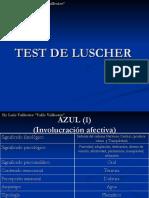 Test de Luscher Ppt by Luis Vallester