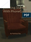 Getting Started With Phone Gap