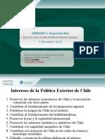 Política y Relaciones Internacionales Chilenas 3