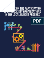 Handbook on the Participation of the CSO in the Local Budget Process