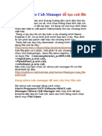 Cách thức việt hóa dùng Wince Cab Manager để tạo cab file