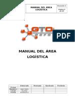 Manual Del Area Logística