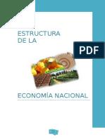 Estructura de La Economía Nacional