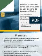 Análisis político de la política hídrica en México