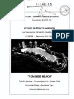 2016 - 06 - Estudio de Impacto Ambiental Remeros Beach