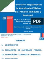 Seminario de Reglamentos de a.P. Tránsito Peatonal- Santiago - 26012016