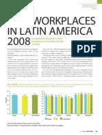2008 Best Companies in Latin America