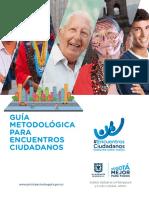 Cartilla Encuentros Web
