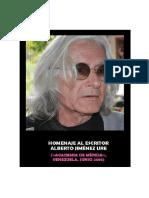 Homenaje Al Escritor Alberto Jiménez Ure