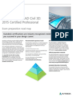 Autodesk AutoCAD Civil 3D 2015 Certification Roadmap v2