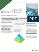 Autodesk AutoCAD Civil 3D 2015 Certification Roadmap v2