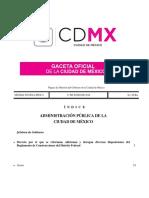 Reformas a Reglamento de Construcciones CDMX