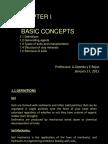 Chapter I. Basic Concepts