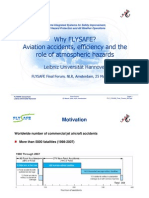 Presentation from the Final FLYSAFE Forum in Europe
