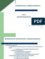 Tema1-Conceptos Básicos Materiales de Construccion