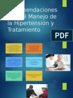 Recomendaciones Para El Manejo de La Hipertensión y