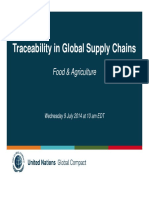 Traceability Food Agriculture