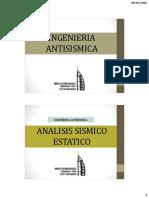 Ingenieria Antisismica Analisis Estatico