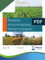 Resultados de las innovaciones MasAgro Guanajuato 2014
