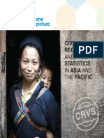 Brochure on CRVS