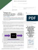 Cuáles Son Los Tipos de Pruebas Software