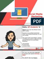 Social Media Marketing 101 & 102 Activity Run 10 June 2016