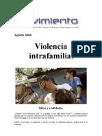 Violencia intrafamiliar; Mitos y realidades