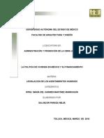 La Politica de Vivienda en Mexico y Su Financiamiento