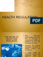 Health Regulation
